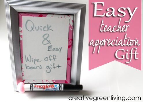 dry erase framed board