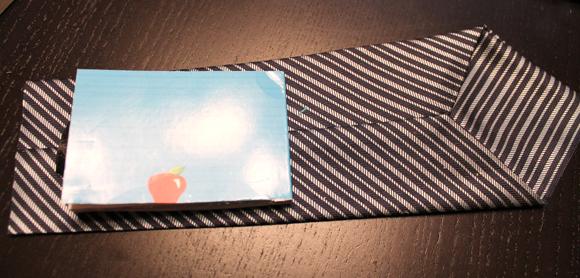 necktie notebook