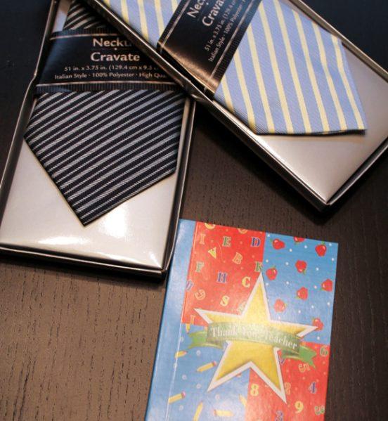 ties, notebook
