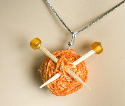 Make a Knitter's Necklace