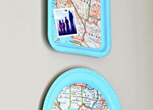 magnetic map tray by fox hollow - featured on DollarStoreCrafts.com