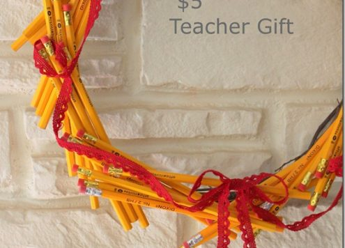 Make a Pencil Wreath
