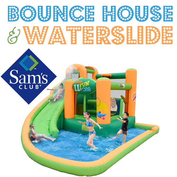 Inflatable Water Slide Safety Rules: Quick Giveaway: Bounce House Waterslide Or DSLR Camera