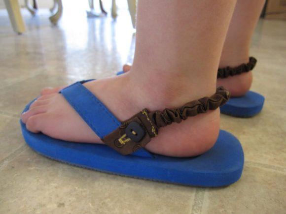 Flip Flop Heel Straps