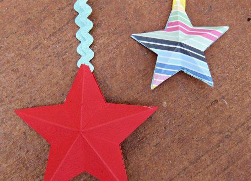 Make 3D Paper Stars