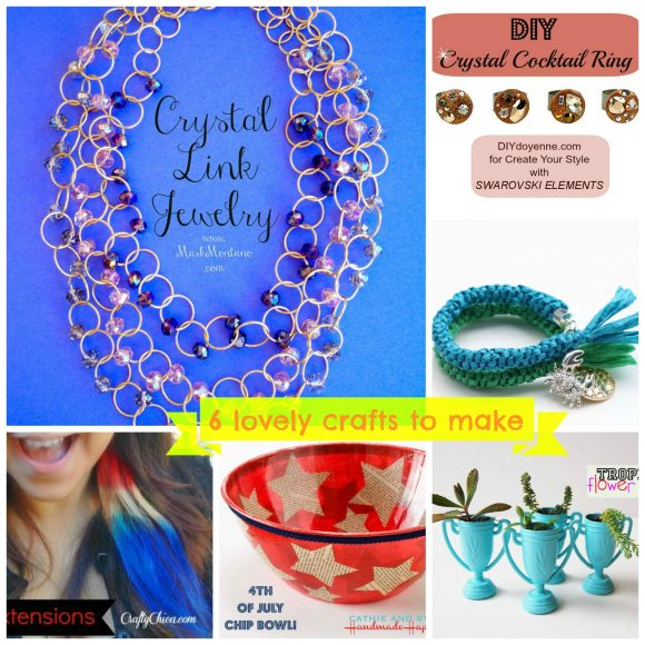 6 lovely craft projects to make - from dollarstorecrafts.com