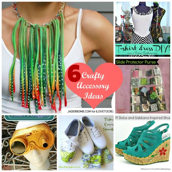 Six Crafty Accessory Ideas - DollarStoreCrafts.com