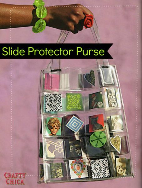 Slide Protector Purse by Crafty Chica