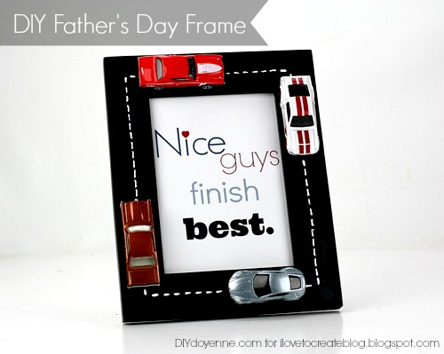 DIY Father's Day Frame