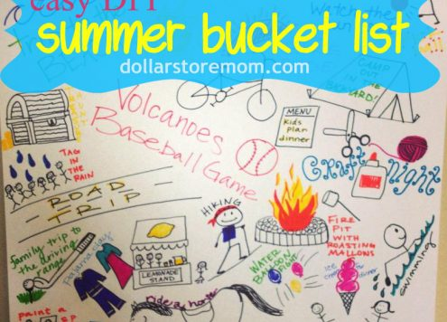 Summer Bucket List Poster
