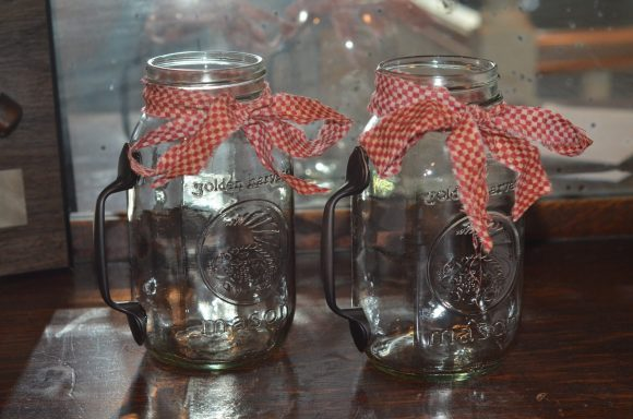 Tutorial: Mason Jar Mugs