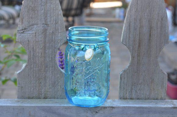 Dressed up mason jars - dollarstorecrafts