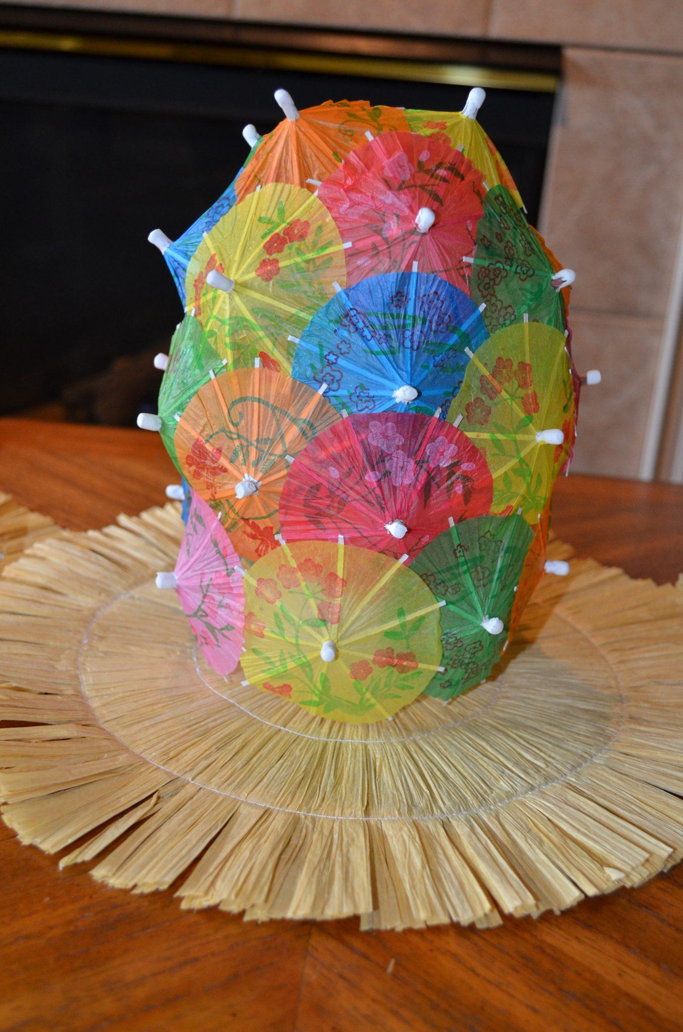 Tutorial: Cocktail Umbrella Centerpiece » Dollar Store Crafts