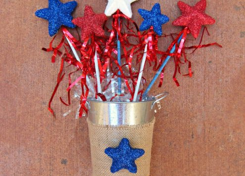 patriotic star wands