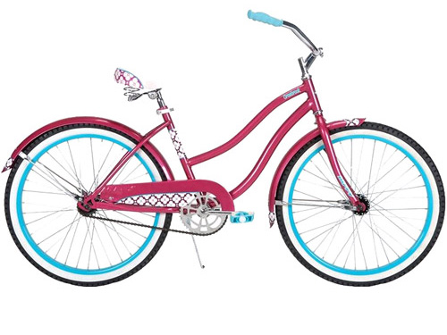 Win a girl's cruiser bike!