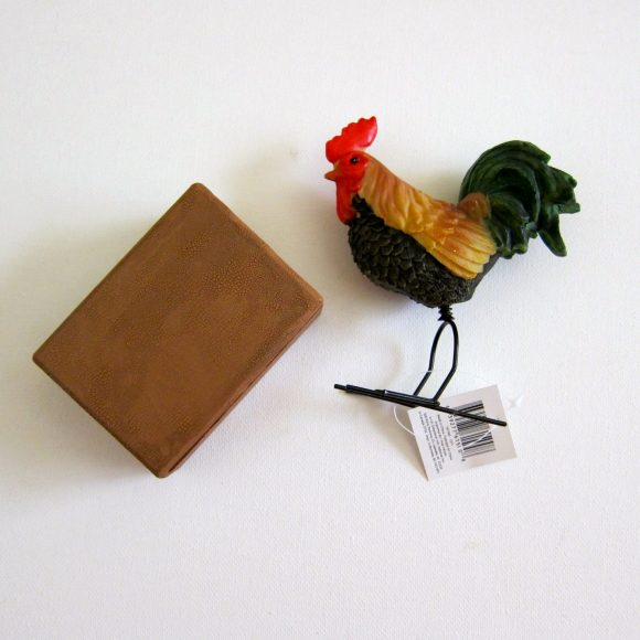 Rooster Box Business Card Holder