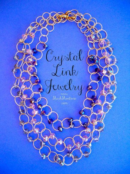 crystal link jewelry by markmontano.com