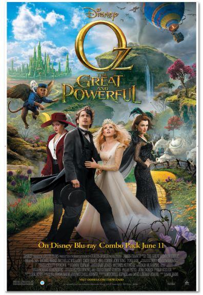 OZ the Great and Powerful #DisneyOzMovie