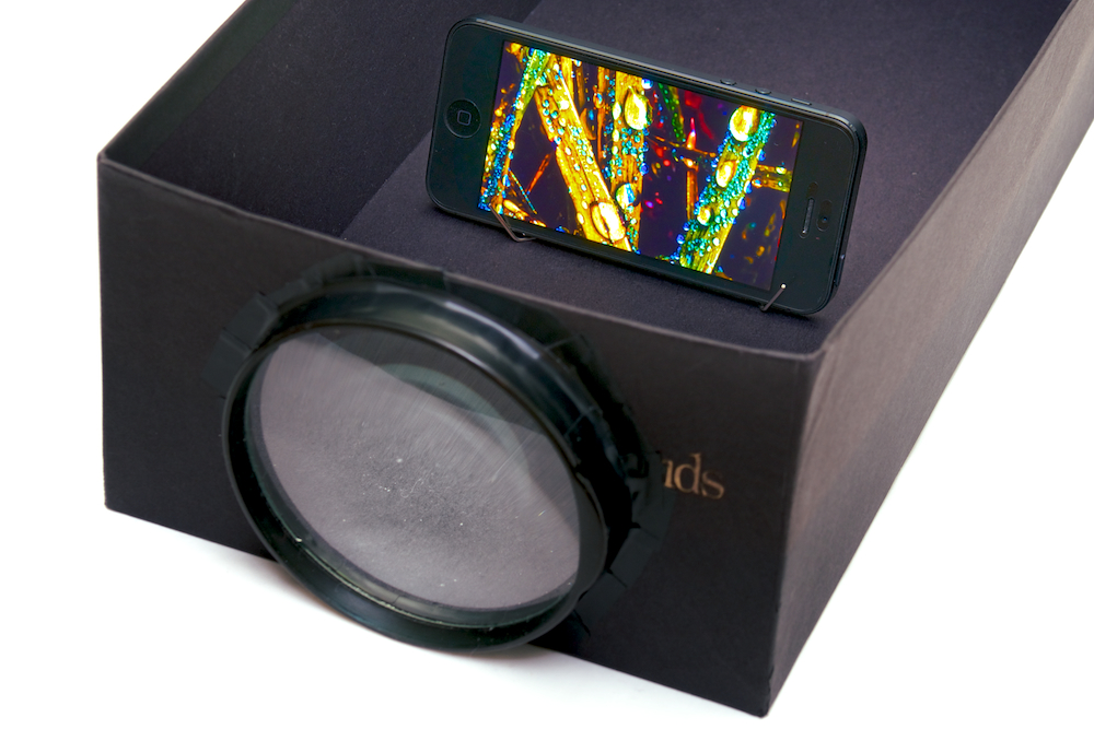 Turn Your Smartphone into a Projector