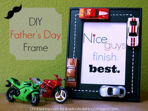 Father's Day Frame by Margot Potter