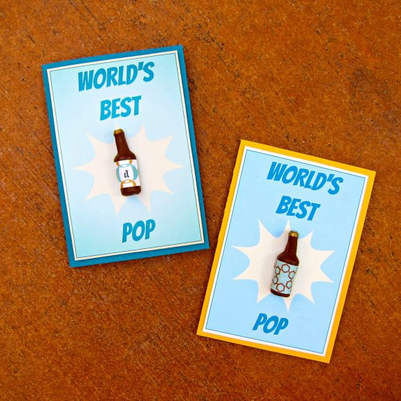 fathers day magnet and card