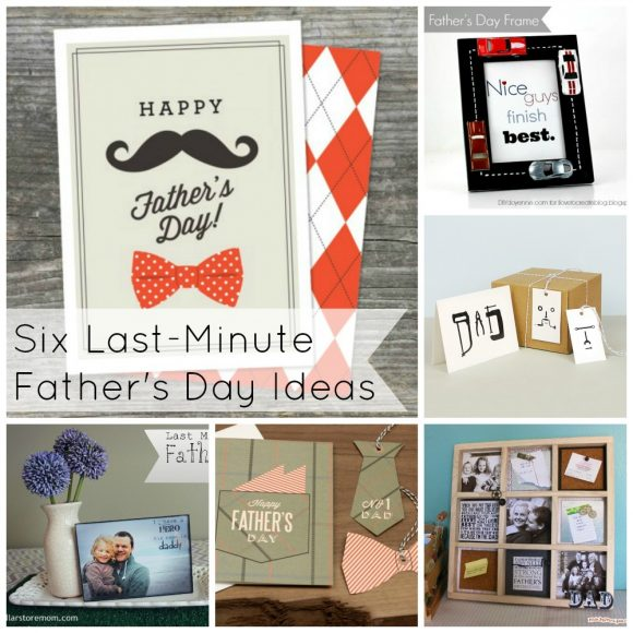 Six Last-Minute Father's Day Ideas