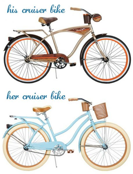 his and hers cruiser bike giveaway
