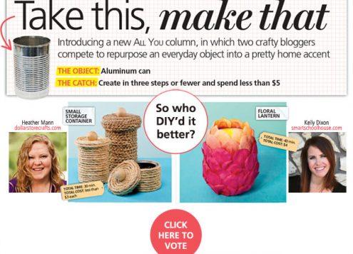 DIY Aluminum Can Craft Ideas - from dollarstorecrafts.com