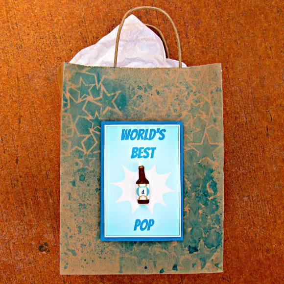 worlds best pop card
