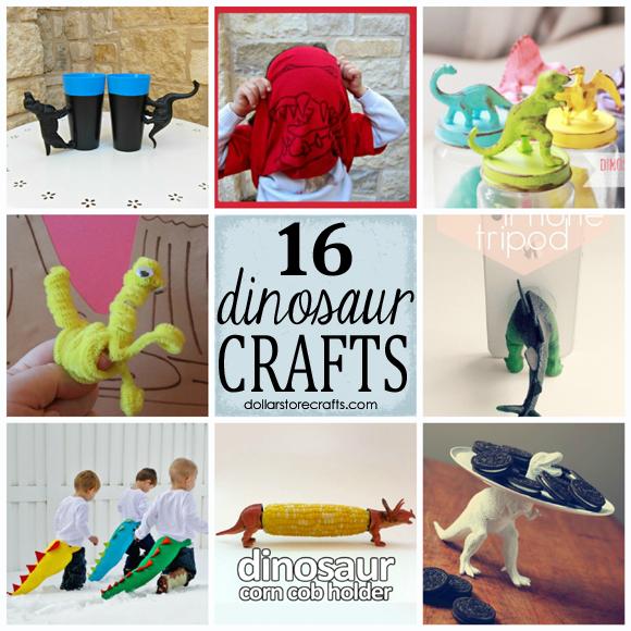 16 dinosaur crafts to make