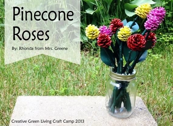 Make Pine Cone Roses