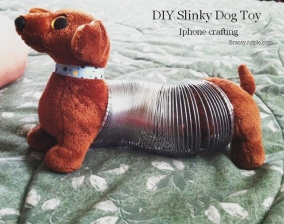 Make a Slinky Dog Toy
