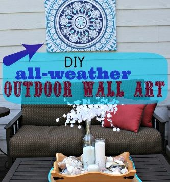 shower curtain into wall art