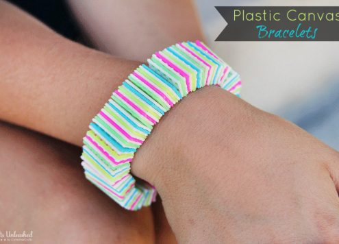 Make Plastic Canvas Bracelets
