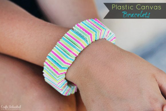 Make Plastic Canvas Bracelets