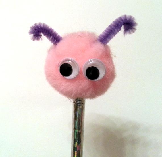 monster pencil topper