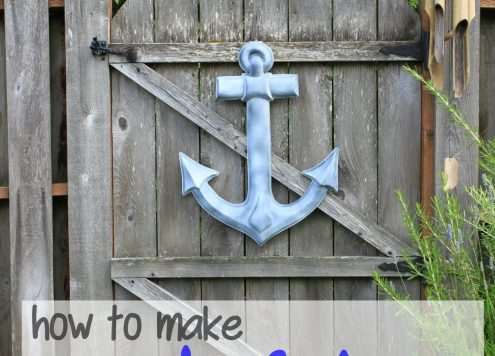 Make Cheap Nautical Garden Art