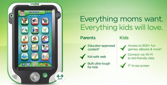 leappad - the best tablet for kids