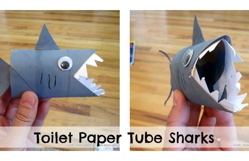how to make a shark puppet