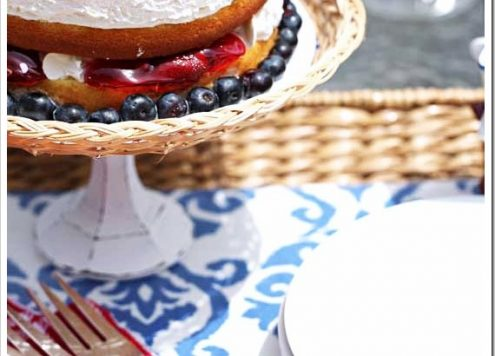 Make a Wicker Cake Stand