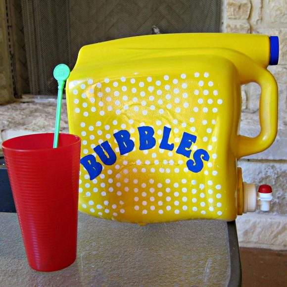 DIY Bubble dispenser