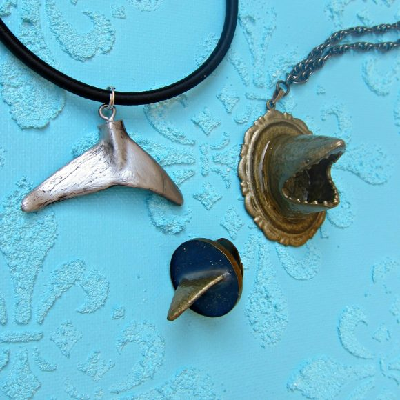 DIY Shark Jewelry