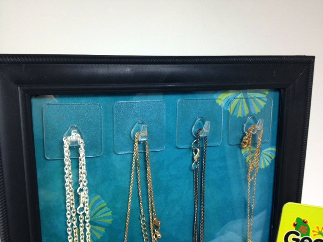 Organization Idea Picture Frame Necklace Holder 187 Dollar
