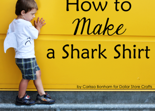 how to make a shark costume