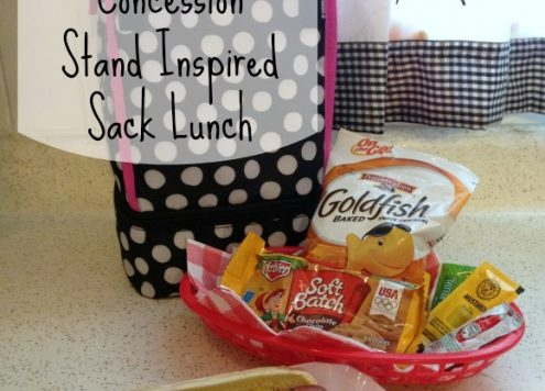 Concession Stand Inspired Lunch