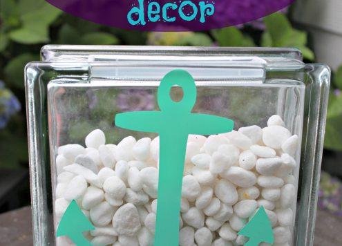 Make a Nautical Patio Vase
