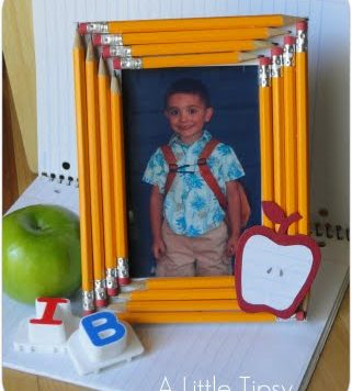Make a Pencil Picture Frame