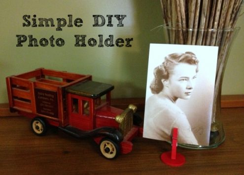 Simple Photo Holder Clips