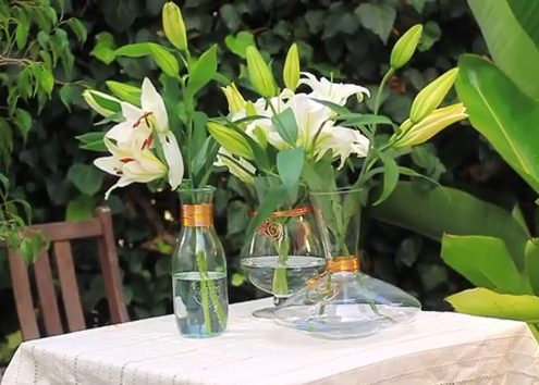 Wire Wrapped Vases