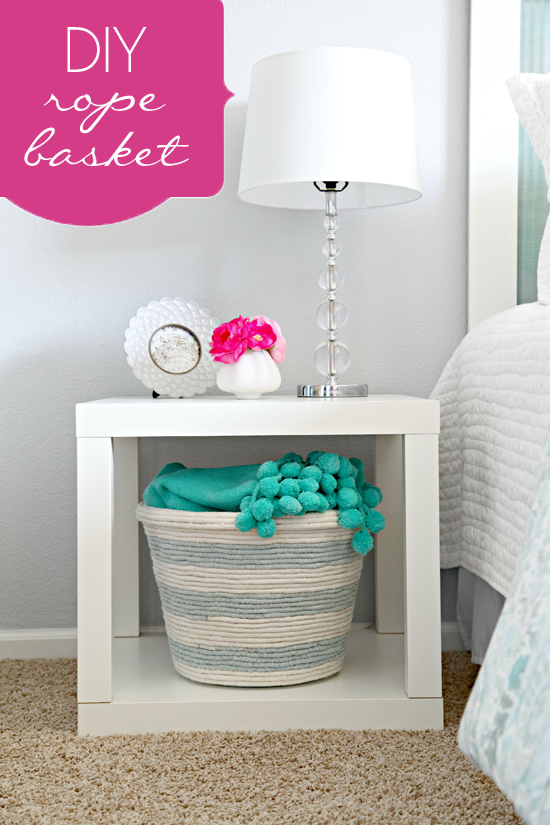 Make a Dyed Upholstery Rope Basket